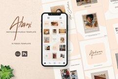 Alani Instagram Puzzle Template - Canva & PSD Product Image 1