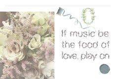Garden floral romantic font Product Image 3