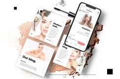 Beauty Instagram 18 Posts Template | CANVA Product Image 5