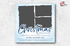 Christmas Mini Sessions Marketing Board Product Image 2