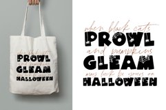 Spooky - A Fun Halloween Font Product Image 3