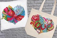 Hearts zentangle Product Image 4