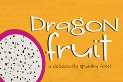 Dragon Fruit Handwritten Font Product Image 1
