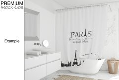 Shower Curtain Mockup Pack Product Image 3