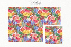 Watercolor Tropics. Seamless Patterns Product Image 3