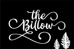 The Billow | A handwritten sweet font Product Image 2