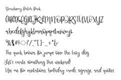 Web Font Strawberry Patch Park Product Image 2