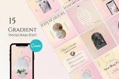 Gradient Instagram Posts Templates Product Image 1