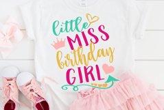 Birthday girl shirt svg design , Kids svg Product Image 1