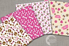Puppy Dog Girl Papers AMB-1387 Product Image 2