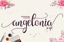 Angelonia Scipt Product Image 1