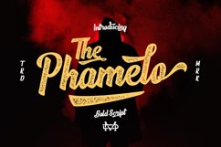 Phamelo - Bold Script Product Image 2