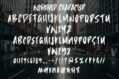 Web Font Withhold - Modern Brush Font Product Image 6