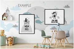 Kids Frames & Wall Mockup Bundle - 5 Product Image 5