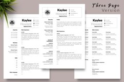 Nurse Resume CV Template for Word & Pages Kaylee Howard Product Image 4