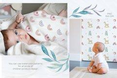 Watercolor Baby Elephant Set Product Image 6