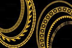 Gold Decorative Frames Clipart Product Image 4