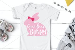 Grandma's Bunny SVG, Bunny Cut File, Grandmas Bunny Product Image 1