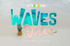Waves Vibes Trio font Product Image 3
