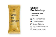 Snack Bar Mockup Product Image 1