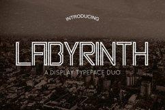 Web Font Labyrinth Typeface Product Image 1
