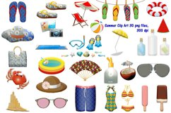 Summer Time Clip Art Product Image 1