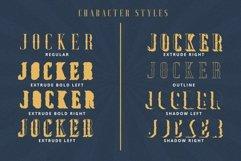 Jocker - Vintage Serif Font Family Product Image 4