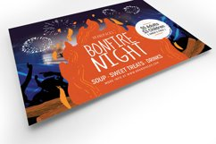 Bonfire Night Flyer Template v2 Product Image 4