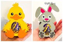 Animal egg holder designs Duck, Rabbit, Penguin and Lamb Product Image 2