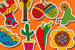 Cinco de mayo fiesta illustration / Mexican 5th May design Product Image 3