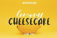 Lemony Cheesecake Font Duo Product Image 1