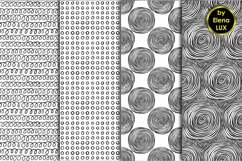 12 Hand Drawn Seamless Patterns Product Image 4