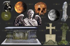 39 Halloween overlay & Ghost Clipart Photoshop overlay Product Image 4