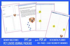Pet Lovers Journal Package Product Image 2