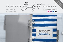 """7"""" x 9.25"""" Paycheck Budget Printable Planner Product Image 3"""