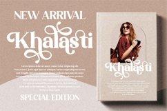 Khalasti - Beautiful Serif Font Product Image 17