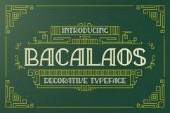Bacalaos - Decorative Typeface Product Image 1