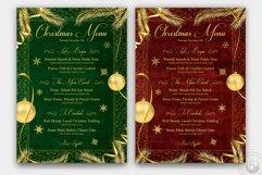 Christmas Menu Template V1 Product Image 3