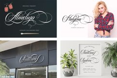 Calligraphy Font Collection Bundle. 4 IN 1 Product Image 5