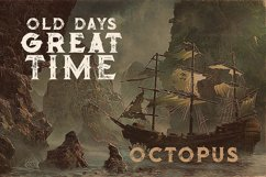 Octopus - Vintage Style Font Product Image 2