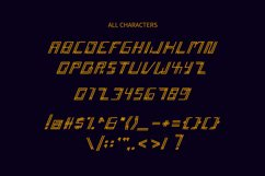 Accelera - Thin Line Decorative Font Product Image 4