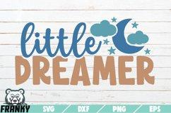 Little dreamer SVG | Printable Cut file Product Image 1