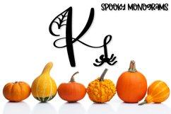 Spooky Monograms - A Halloween Monogram Font Product Image 6