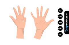 Finger Clipart Product Image 1