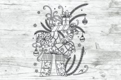 Christmas SVG Gifts Doodles Product Image 2