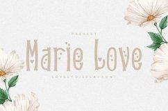 Web Font Marie Love Font Product Image 1