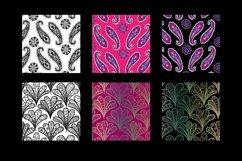 8 seamless paisley patterns Product Image 5