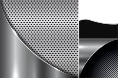 Collection of metallic backgrounds. Product Image 6