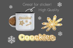 Christmas cookies clipart vol.1 Product Image 4