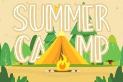 Summer Beach Sunny Display Typeface Product Image 3